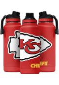 Kansas City Chiefs Hyrda 34 oz Red Logo Stainless Steel Tumbler - Red