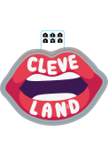 Cleveland Lips Stickers