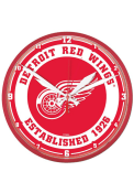 Detroit Red Wings 12.75 inch Round Wall Clock