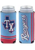 Texas Rangers Powder Blue Jersey 12oz Slim Coolie