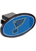 St Louis Blues Plastic Oval Car Accessory Hitch Cover