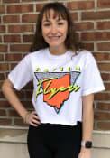 Dayton Flyers Womens Retro Pastel T-Shirt - White