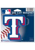 Texas Rangers 4.5x6 die cut Magnet