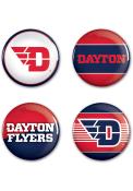 Dayton Flyers 4pk Button