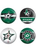 Dallas Stars 4pk Button