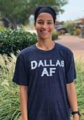 Dallas Heather Navy AF Short Sleeve T-Shirt
