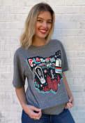 Platform Beer Co. Heather Grey Street Art Short Sleeve T-Shirt