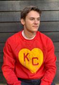 Kansas City Monarchs Rally KC Heart Fashion Sweatshirt - Red