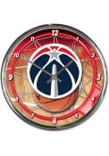 Washington Wizards Chrome Wall Clock