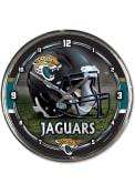 Jacksonville Jaguars Chrome Wall Clock