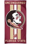Florida State Seminoles Team Color Beach Towel