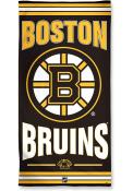 Boston Bruins Team Color Beach Towel
