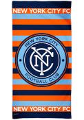 New York City FC Spectra Beach Towel