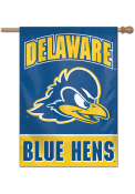 Delaware Fightin' Blue Hens Typeset 28x40 Banner
