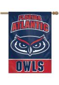 Florida Atlantic Owls Typeset 28x40 Banner