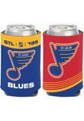 St Louis Blues Reverse Retro Logo Coolie