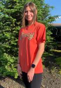 Cincinnati Womens Rally Cheetah T-Shirt - Red