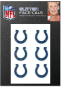 Indianapolis Colts 6 Pack Glitter Tattoo