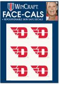 Dayton Flyers 6 Pack Tattoo
