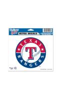 Texas Rangers 5x6 Multi-Use Auto Decal - Blue