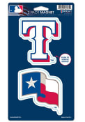 Texas Rangers Die Cut 2-Pack Magnet