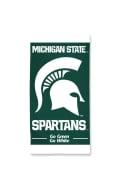 Michigan State Spartans Team logo Beach Towel