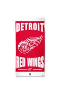 Detroit Red Wings Team Logo Beach Towel