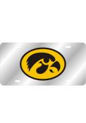 Iowa Hawkeyes Team Logo Inlaid Car Accessory License Plate