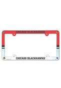 Chicago Blackhawks Plastic Full Color License Frame