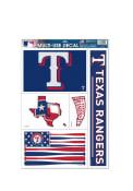 Texas Rangers Multi Use Auto Decal - Blue