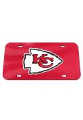 Kansas City Chiefs Team Logo Car Accessory License Plate