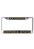 Emporia State Hornets Alumni Inlaid License Frame