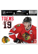 Chicago Blackhawks Multi Use Auto Decal - Red