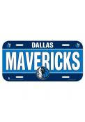 Dallas Mavericks Team Name Car Accessory License Plate