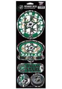 Dallas Stars 4x11 Prismatic Stickers