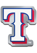 Texas Rangers Metallic Car Emblem - Blue
