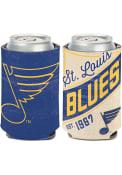 St Louis Blues Vintage 12oz Can Coolie