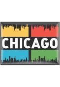 Chicago 3x4 Skyline Magnet