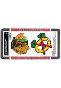 Chicago Blackhawks 2-Pack Decal Combo License Frame