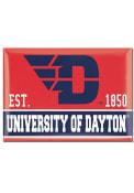 Dayton Flyers 2.5 x 3.5 Metal Magnet