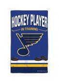 St Louis Blues Baby Hockey Player in Training Bib - Blue