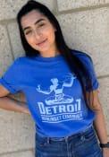 Detroit Royal Spirit Short Sleeve T Shirt