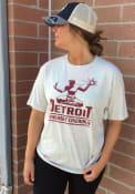 Detroit Oatmeal Spirit Statue Short Sleeve T Shirt