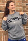 Cincinnati Wordmark Crew Sweatshirt - Grey