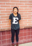 Eastern Michigan Eagles Womens Confetti V-Neck T-Shirt - Green