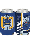 St Louis Blues Louie Team Mascot 2-Sided Can Coolie