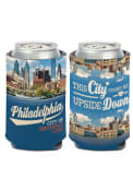 Philadelphia 12 oz. Can This City Turns Me Upside Down Coolie