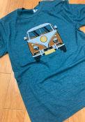 Detroit Teal VW Van Short Sleeve T Shirt