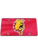 Ferris State Bulldogs Mascot Car Accessory License Plate