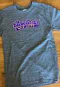 Cleveland Heather Grey Wild Thing Short Sleeve T Shirt
